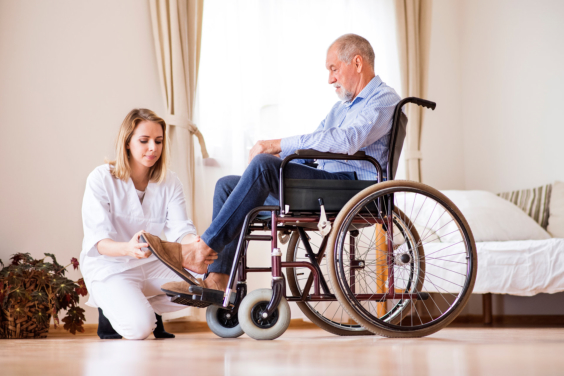Wheelchair Care: Guidelines for Family Caregivers
